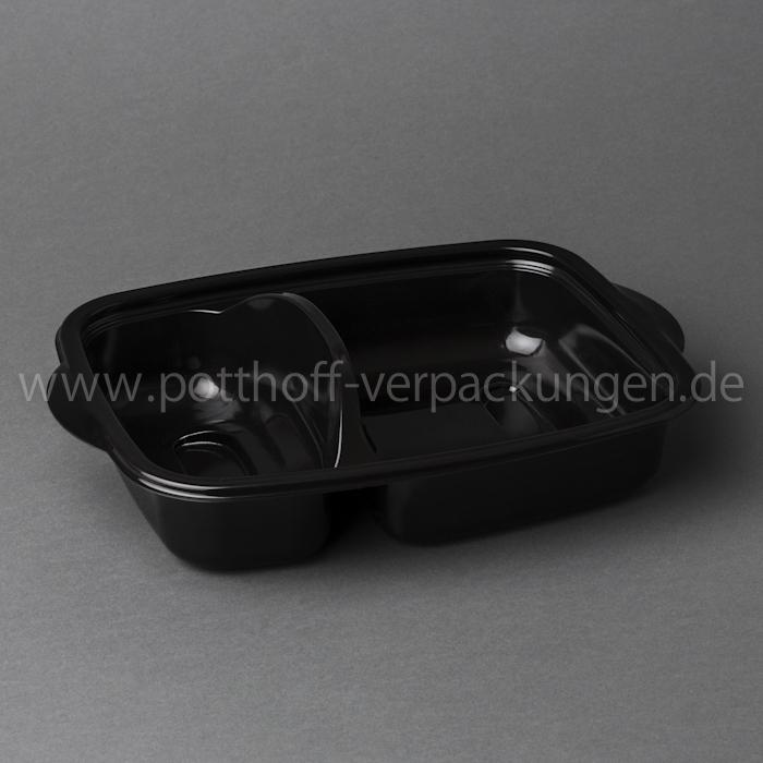 MW-Schalen, 2get., schwarz Image