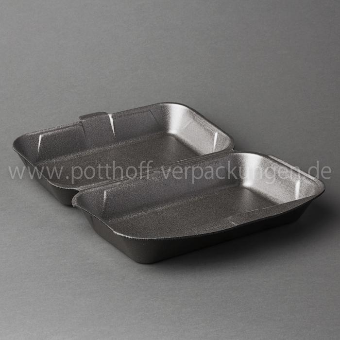 Lunch-Box, klein, anthrazit 145mmX185mmX74 Image