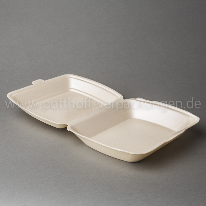 Menü-Box, unget., beige 240mmX195mmX72mm Image