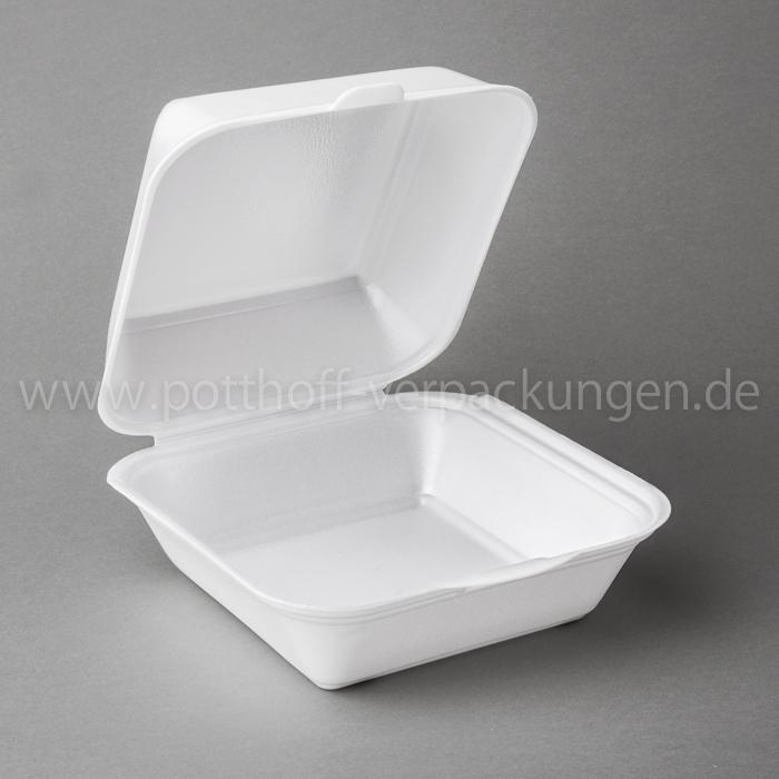 Hamburger-Box, weiß, Gigant Image