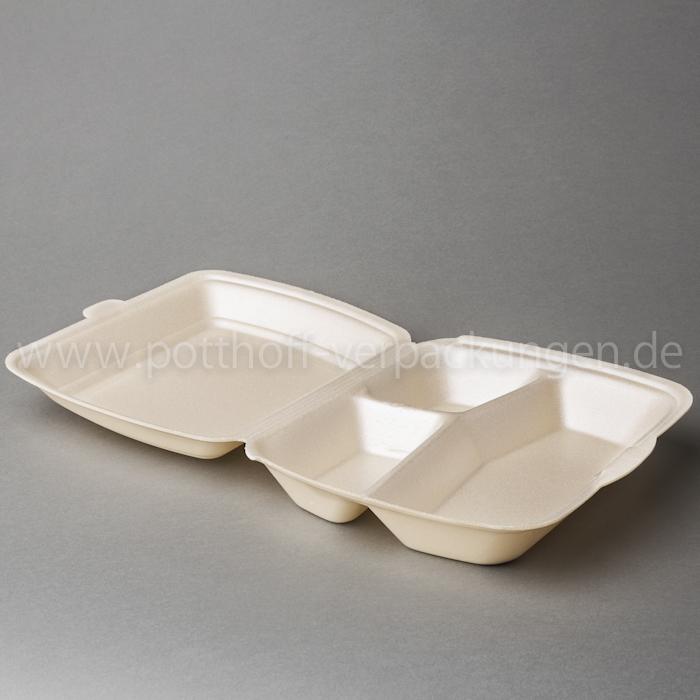 Menü-Box, 3 tlg., beige 240mmX195mmX72mm Image