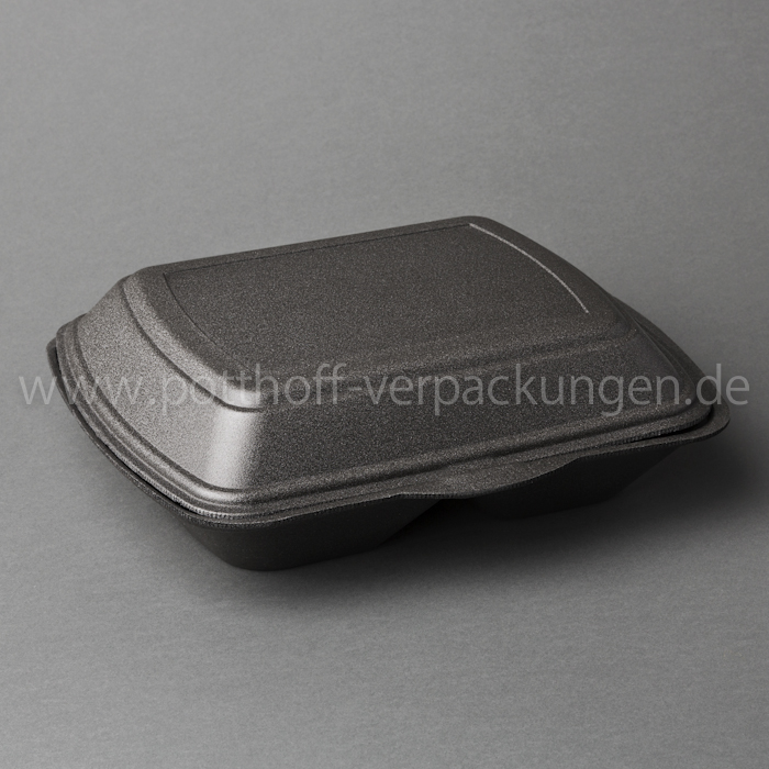 Menü-Box, 3 tlg., anthrazit 240mmX195mmX72mm Image