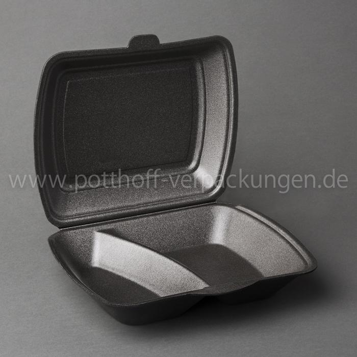 Menü-Box, 2 tlg., anthrazit 240mmX195mmX72mm Image