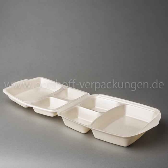 Dinner-Box, 3tlg., beige 274mmX268X74,5mm Image