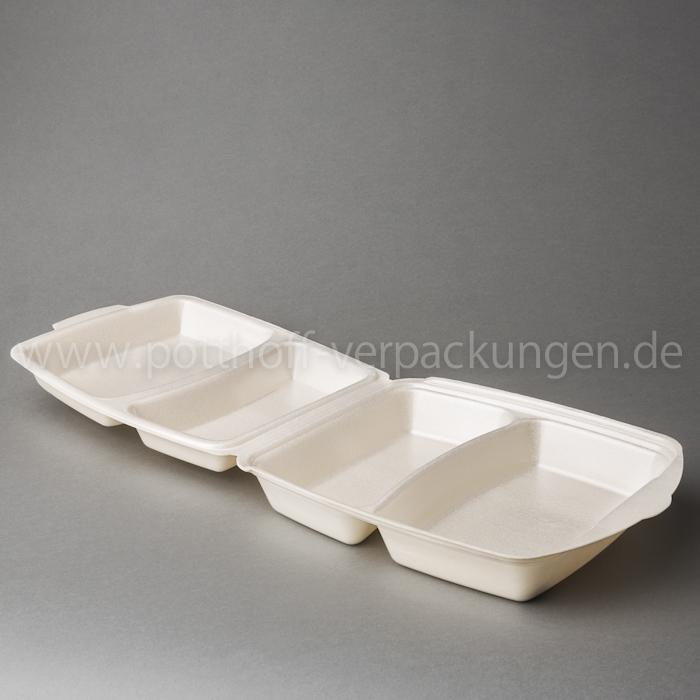 Dinner-Box, 2tlg., beige 274mmX268X74,5mm Image