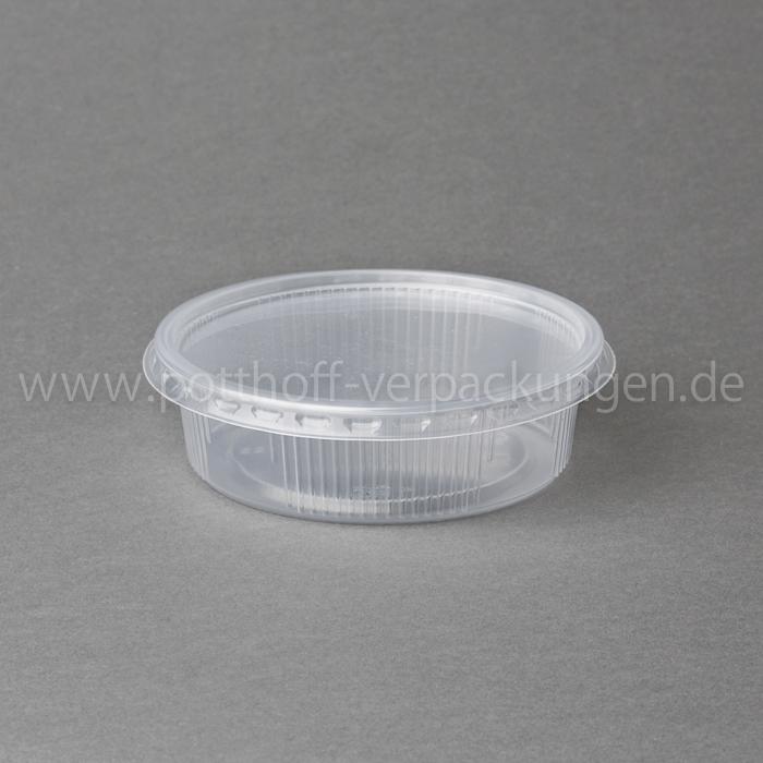 Rundbecher 200ccm/101mmØ mit Deckel (Kombipack 250 Stück / Karton) Image